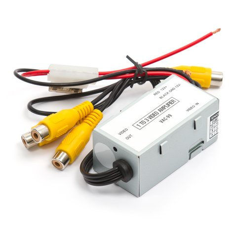 Car Video Distribution Amplifier (1 to 3 Channels) Preview 1