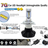 Car LED Headlamp Kit UP-7HL-H13W-4000Lm (H13, 4000 lm, cold white) - Preview 3
