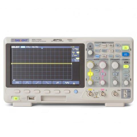 Фосфорний цифровий осцилограф SIGLENT SDS1102X Прев'ю 5