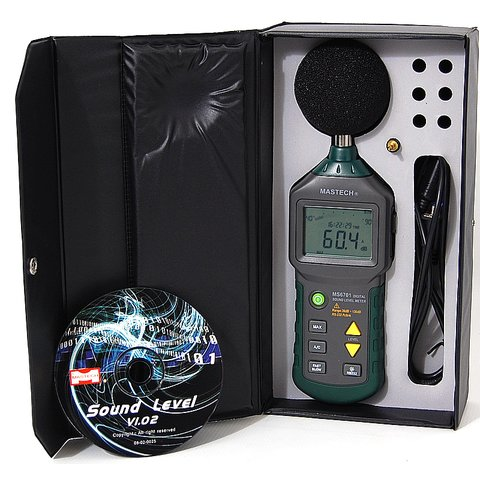 Digital Sound Level Meter MASTECH MS6701 Preview 2